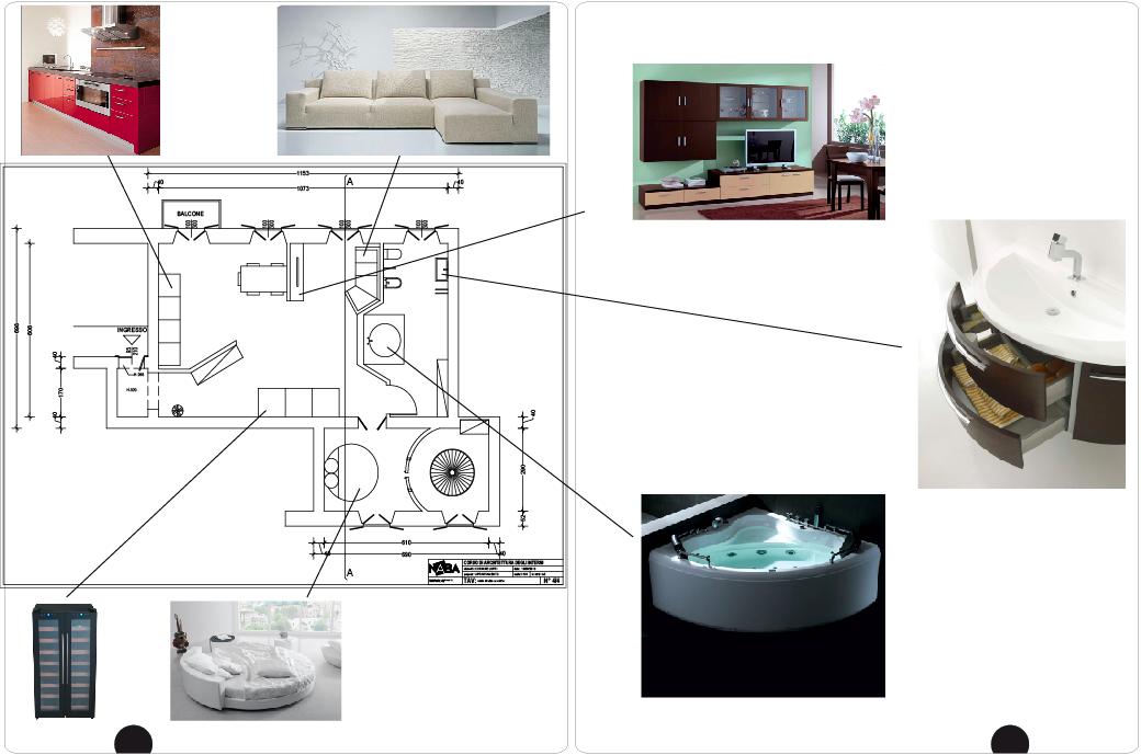 Arredamento di interni appartamento vecchia milano il for Arredamento di interni